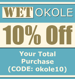 10% Off, Your Total Purchase (CODE: okole10)
